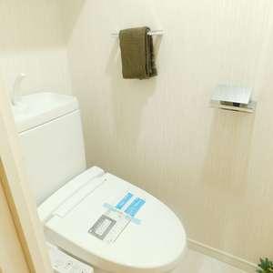シティインデックス池袋(14階,)のトイレ