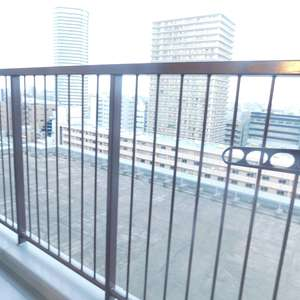 メゾンサンシャイン(10階,4099万円)のバルコニー