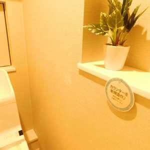 メゾンサンシャイン(10階,4199万円)のトイレ