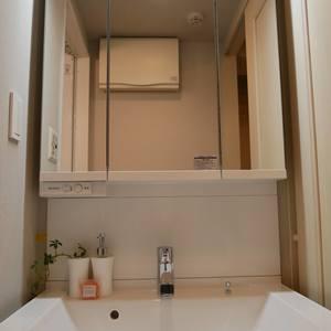ガラステージ高円寺(3階,2799万円)の化粧室・脱衣所・洗面室