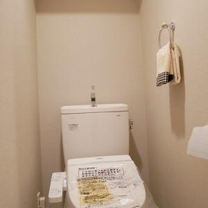 ガラステージ高円寺(3階,2799万円)のトイレ