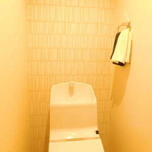 ライオンズガーデン哲学堂(1階,4580万円)のトイレ
