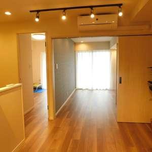 エクセルシオール新宿西戸山(6階,)の居間(リビング・ダイニング・キッチン)