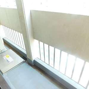 シルバープラザ新宿第2(5階,3199万円)のバルコニー