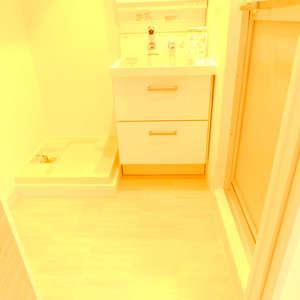 シルバープラザ新宿第2(5階,3199万円)の化粧室・脱衣所・洗面室
