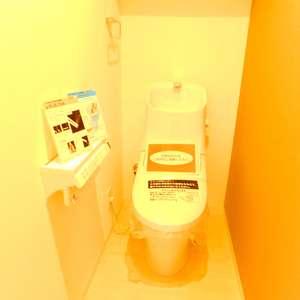 シルバープラザ新宿第2(5階,3199万円)のトイレ
