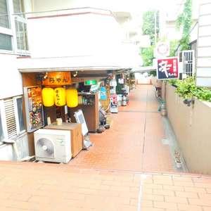 新宿フラワーハイホームのマンションの入口・エントランス