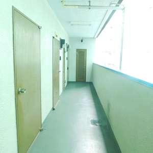 新宿フラワーハイホーム(8階,)のフロア廊下(エレベーター降りてからお部屋まで)