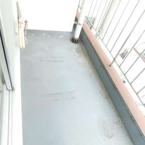 新宿フラワーハイホーム(8階,)のバルコニー