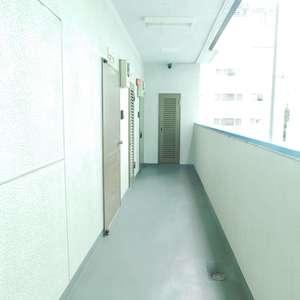 新宿フラワーハイホーム(9階,)のフロア廊下(エレベーター降りてからお部屋まで)
