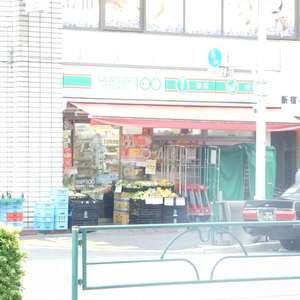 新宿フラワーハイホームの周辺の食品スーパー、コンビニなどのお買い物