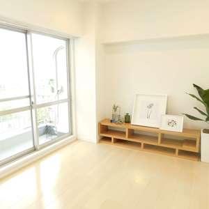 新宿フラワーハイホーム(9階,)の居間(リビング・ダイニング・キッチン)