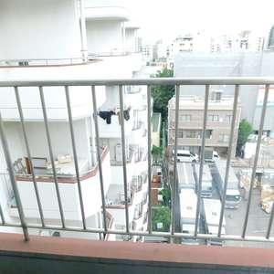 新宿フラワーハイホーム(9階,)のバルコニー