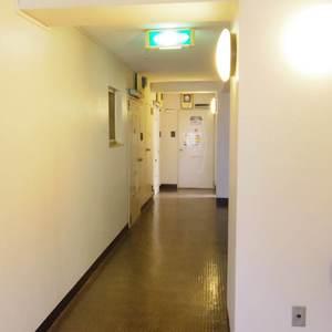 富士見ステータス(3階,4980万円)のフロア廊下(エレベーター降りてからお部屋まで)