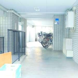 中銀第2小石川マンシオンの駐輪場