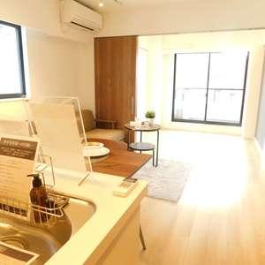 中銀第2小石川マンシオン(3階,4290万円)の居間(リビング・ダイニング・キッチン)