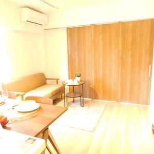 中銀第2小石川マンシオン(3階,)の居間(リビング・ダイニング・キッチン)