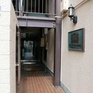 ライオンズマンション両国第5のマンションの入口・エントランス