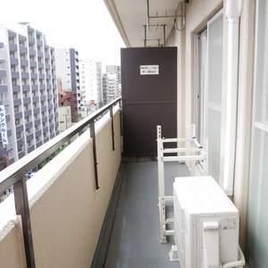 ライオンズマンション両国第5(8階,3290万円)のバルコニー