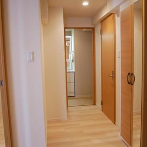 プレストマーロ両国(8階,3980万円)のお部屋の廊下