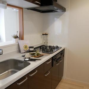 プレストマーロ両国(8階,)のキッチン
