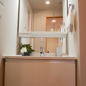 プレストマーロ両国(8階,3980万円)の化粧室・脱衣所・洗面室