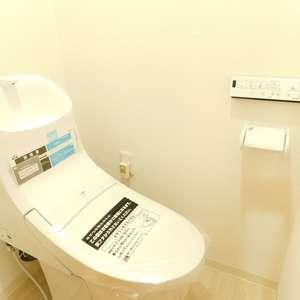 グレイス高田馬場(3階,)のトイレ
