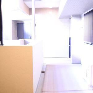 コスモ上野ロイヤルフォルム(4階,)のフロア廊下(エレベーター降りてからお部屋まで)