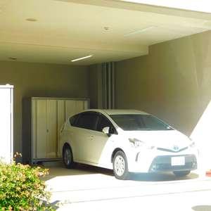 エムブランド新宿戸山公園の駐車場