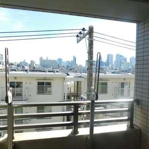 エムブランド新宿戸山公園(4階,)のバルコニー