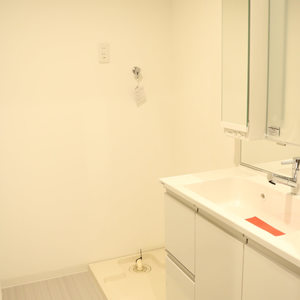 CQレジデンシャル上野(3階,3449万円)の化粧室・脱衣所・洗面室
