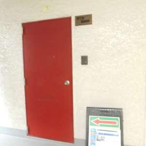 大塚台ハイツ(2階,)のフロア廊下(エレベーター降りてからお部屋まで)