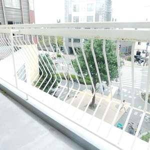 北新宿サマリヤマンション(3階,3498万円)のバルコニー