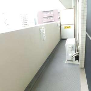 高田馬場パークホームズ(8階,6280万円)のバルコニー