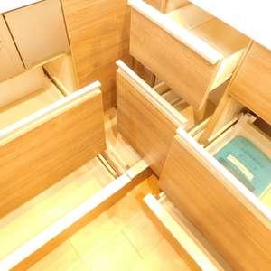 高田馬場パークホームズ(8階,6280万円)のキッチン