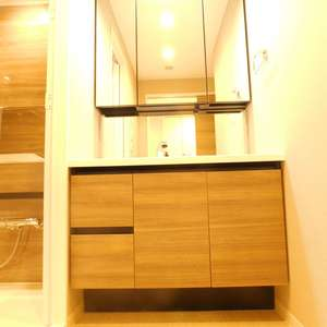 高田馬場パークホームズ(8階,6280万円)の化粧室・脱衣所・洗面室