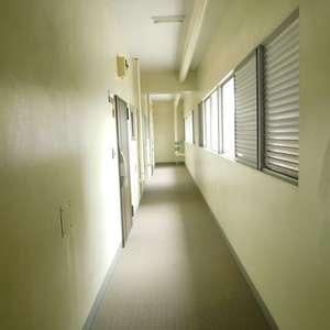 高田馬場住宅(1階,)のフロア廊下(エレベーター降りてからお部屋まで)