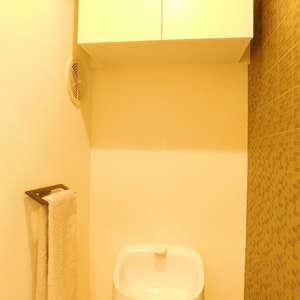 高田馬場住宅(1階,)のトイレ