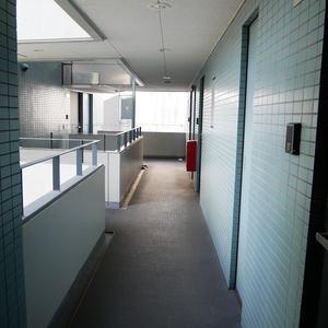 シーアイマンション浅草橋(8階,4780万円)のフロア廊下(エレベーター降りてからお部屋まで)