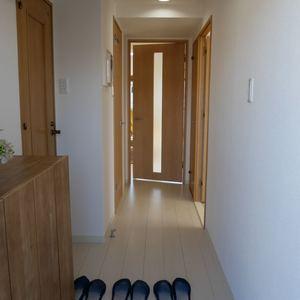 スカイノブレ御徒町(9階,)のお部屋の廊下