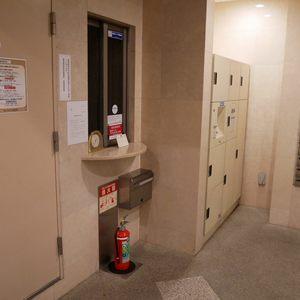 セントレー亀戸のマンションの入口・エントランス