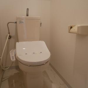 セントレー亀戸(3階,)のトイレ