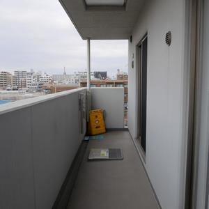 レヴィ亀戸(6階,5090万円)のバルコニー