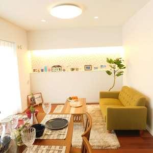 目白台コーポ(6階,3299万円)の居間(リビング・ダイニング・キッチン)