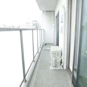 スカイコート文京新大塚(6階,4180万円)のバルコニー