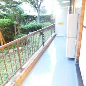 新神楽坂ハウス(1階,4980万円)のバルコニー