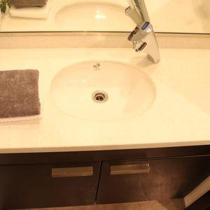 シティタワー四谷(3階,8480万円)の化粧室・脱衣所・洗面室