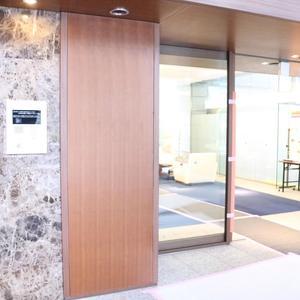 シティタワー四谷のマンションの入口・エントランス