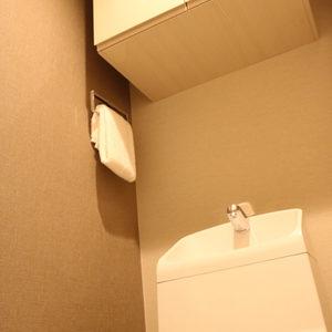 シャトレ市ヶ谷(5階,)のトイレ