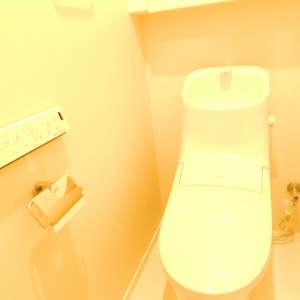 パシフィック西早稲田(6階,)のトイレ